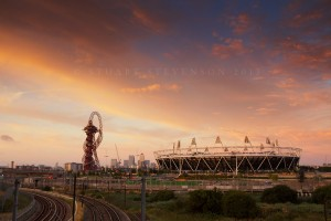 Queen Elizabeth Olympic park, London, England