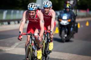 The Brownlee brothers, Commonwealth Games, Glasgow 2014