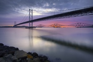Forth Road Bridge, Scotland