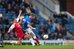 Rangers V Stirling Albion