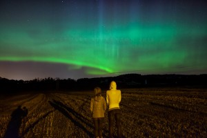 One of the clearest aurora borealis I&#8217;ve had the please to witness &#8211; and on my doorstep too!