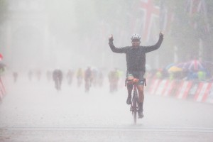 Prudential RideLondon, London-Surrey 100, finish line – London. 10 August 2014