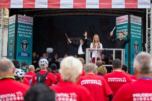 Laura Trott, world record attempt at Prudential RideLondon  FreeCycle. Saturday 9 August 2014.