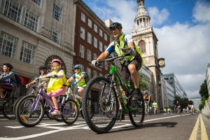 Prudential RideLondon, Freecycle. 9 August 2014