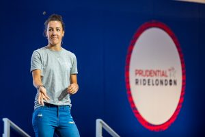 Prudential RideLondon 2018 – Dani King at Cycling Show at London Excel.  Photographer: Stuart Stevenson
