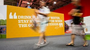 Prudential RideLondon 2018 – Cycling Show at London Excel. 27 July 2018.